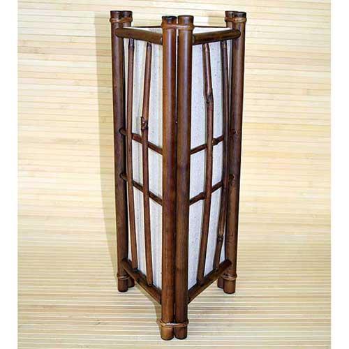 Светильник настольный из бамбука 101109
