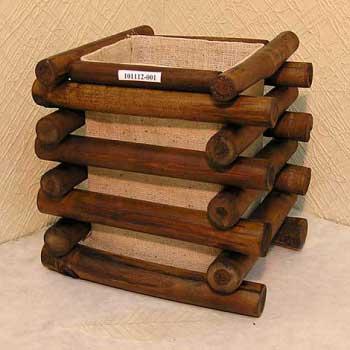 Светильник настольный из бамбука 101112-001