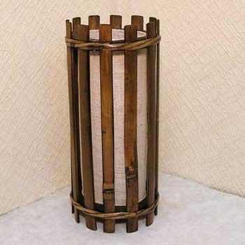Светильник настольный из бамбука 101116-001