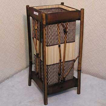 Светильник настольный из бамбука 101120-006