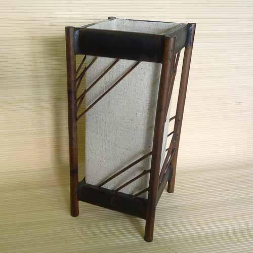 Светильник настольный  из бамбука 101120-011
