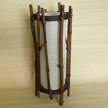 Светильник настольный из бамбука 101162