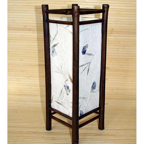 Светильник настольный из бамбука 101248