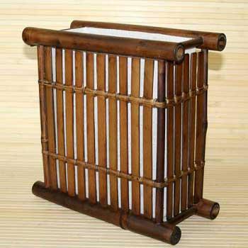 Светильник настенный из бамбука 104110