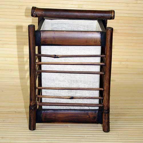 Светильник настольный из бамбука 104111