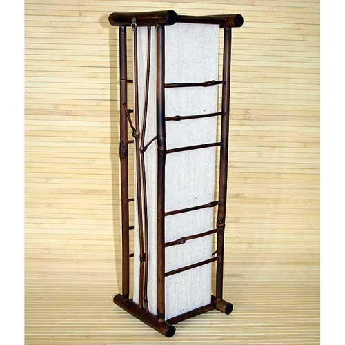 Светильник настенный из бамбука 104114