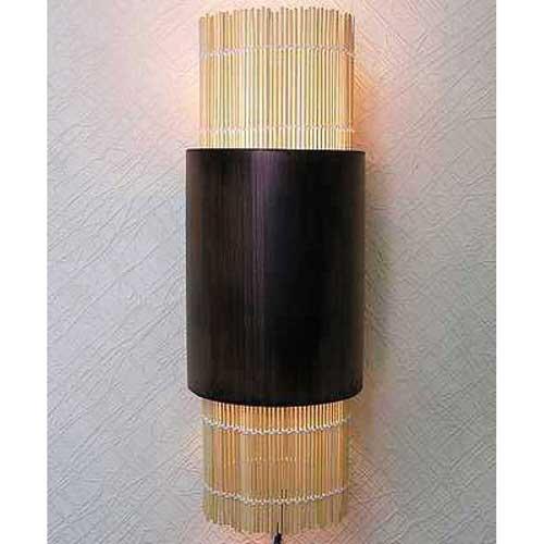 Светильник настенный  из бамбука 104120