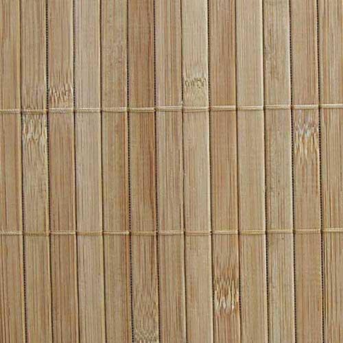 Бамбуковые обои с нитью 17 мм КОФЕ 90 см
