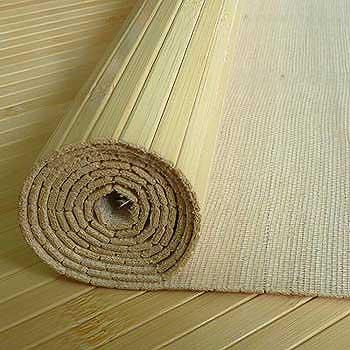 Бамбуковое полотно натуральное 17 мм 180 см