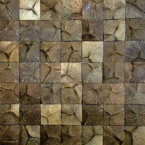 Кокосовая мозаика DTM-009