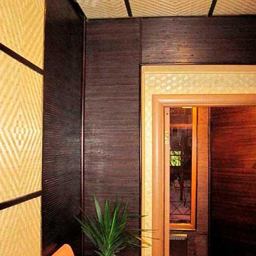 Бамбуковое полотно венге фото