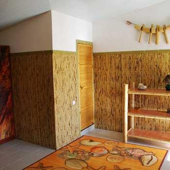 Бамбуковое полотно Жёлтая черепаха фото