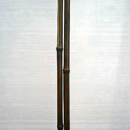 Бамбуковый ствол цвет шоколад 1,5 - 2 см