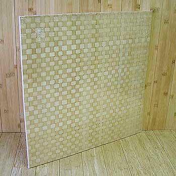 Панель бамбуковая однослойная Блокс