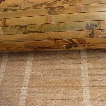 Бамбуковое полотно черепаха коричневое