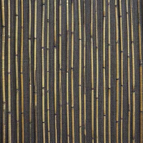 Тростниковое полотно Мадагаскар чёрное