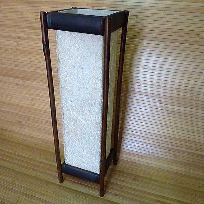 Светильник настольный из бамбука 101191