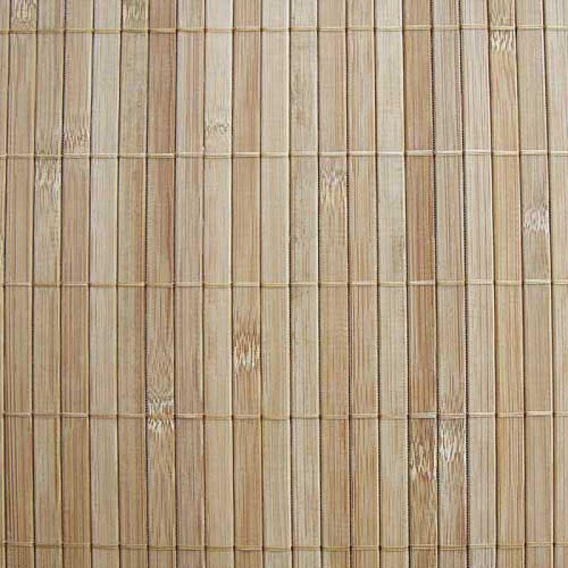 Бамбуковые обои с нитью 11 мм КОФЕ 90 см