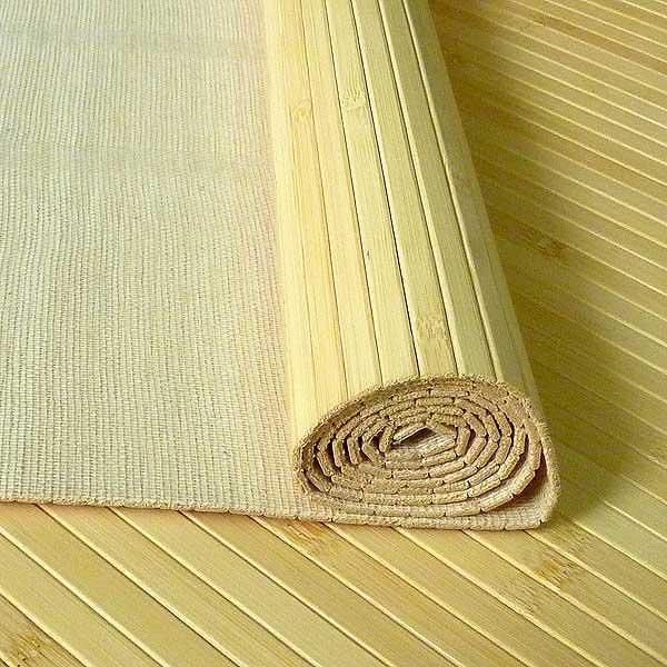 Бамбуковые обои. Бамбуковое полотно. Натуральные обои из бамбука. 11 мм. 200 см