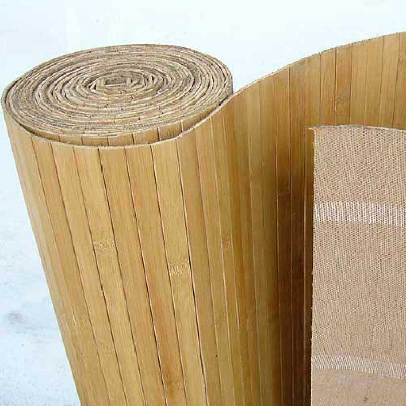 Бамбуковые обои кофе 17 мм 180 см
