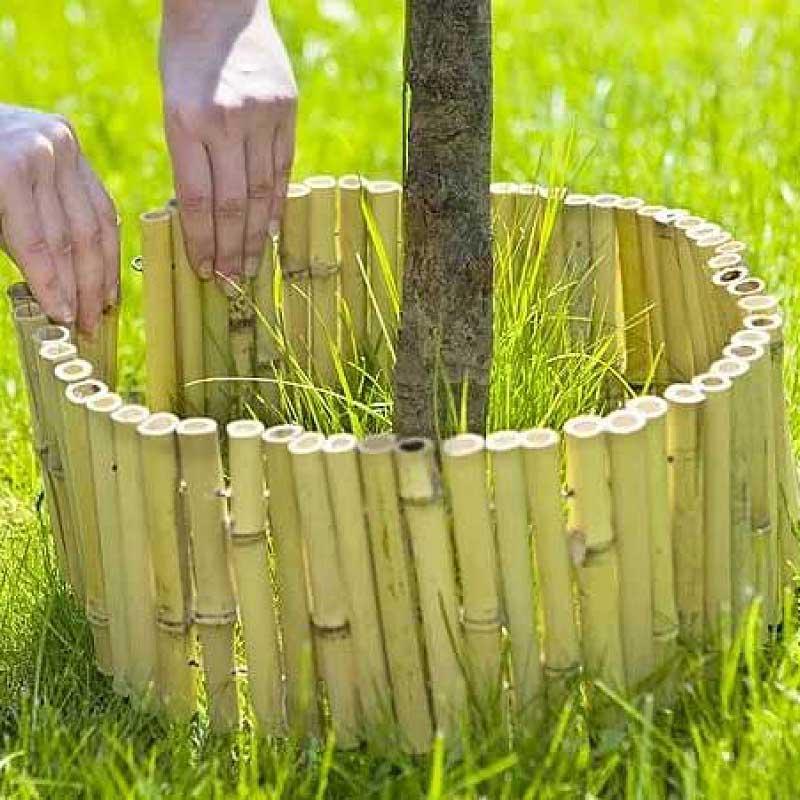 Бамбуковый забор 300  х 30 см