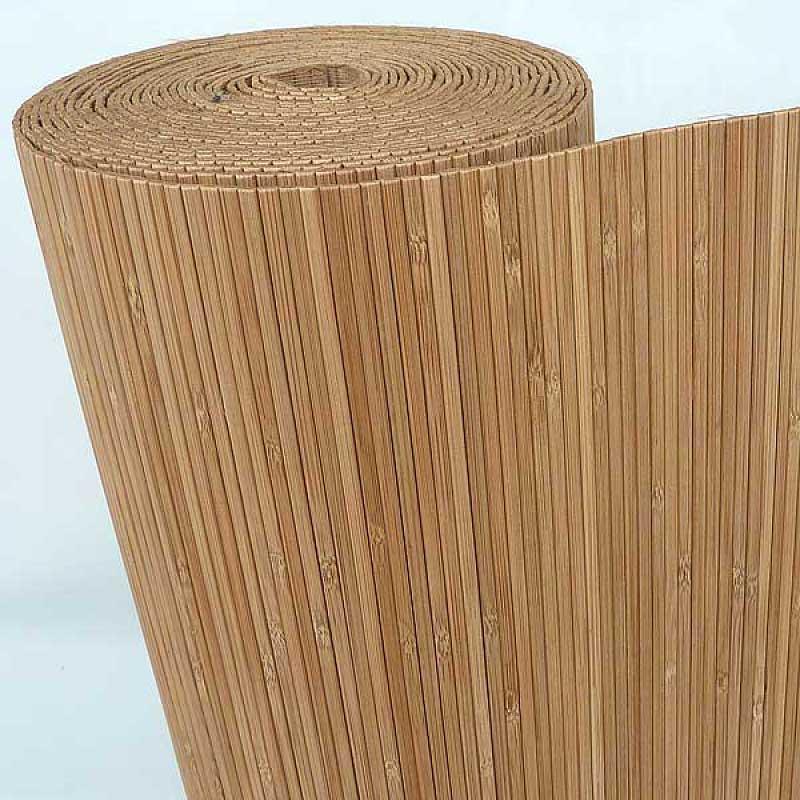 Бамбуковые обои кофе 5 мм 180 см