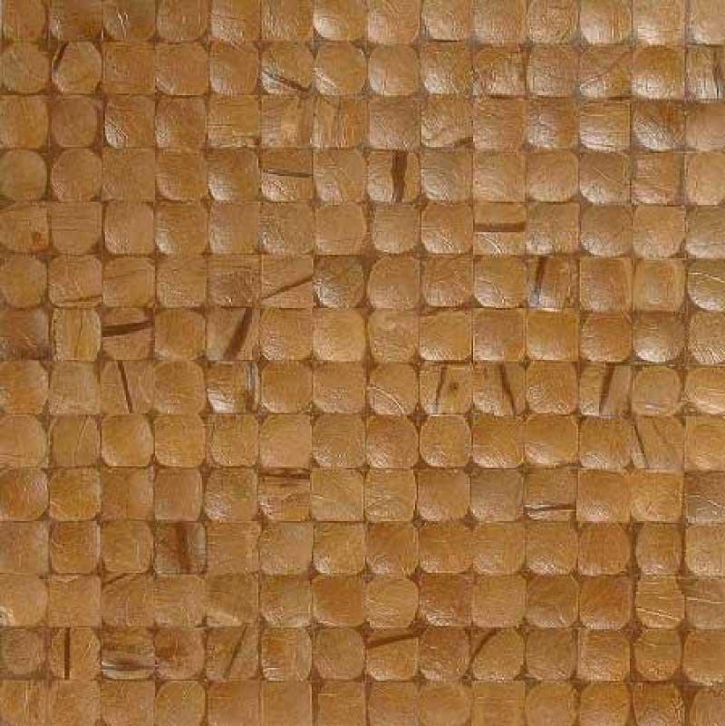 Кокосовая мозаика Карамель интерно