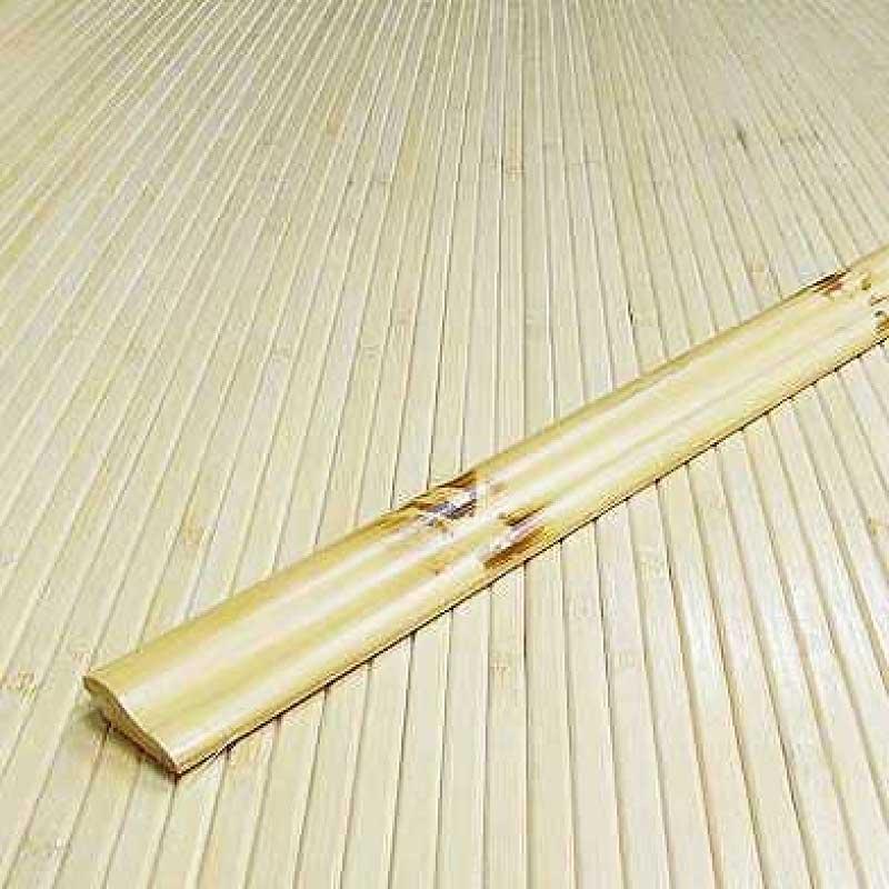 Кромочная планка из бамбука натуральная с рисунком