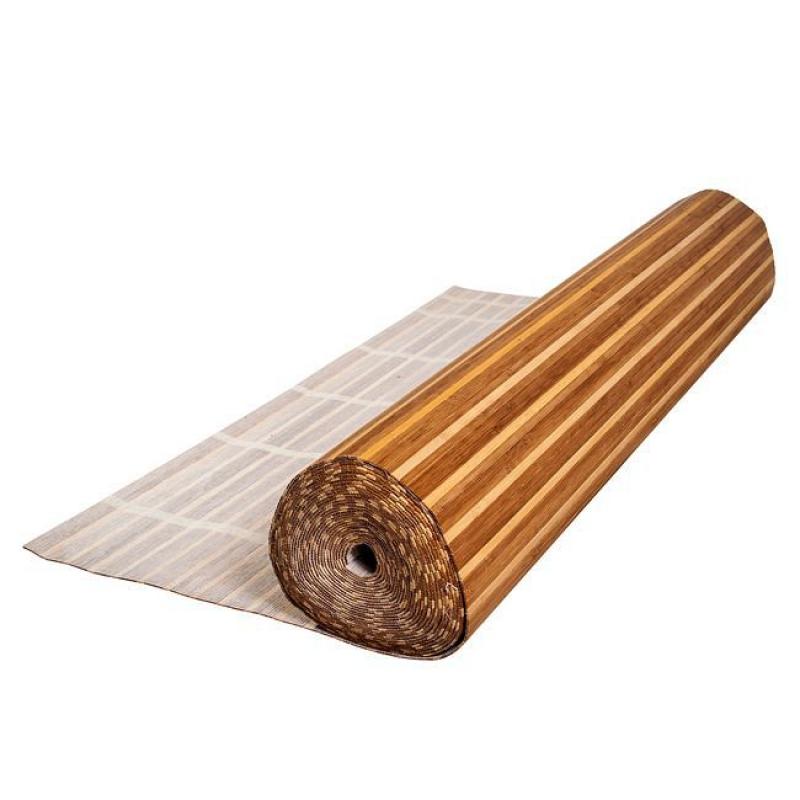 Бамбуковые обои полосатики 90 см