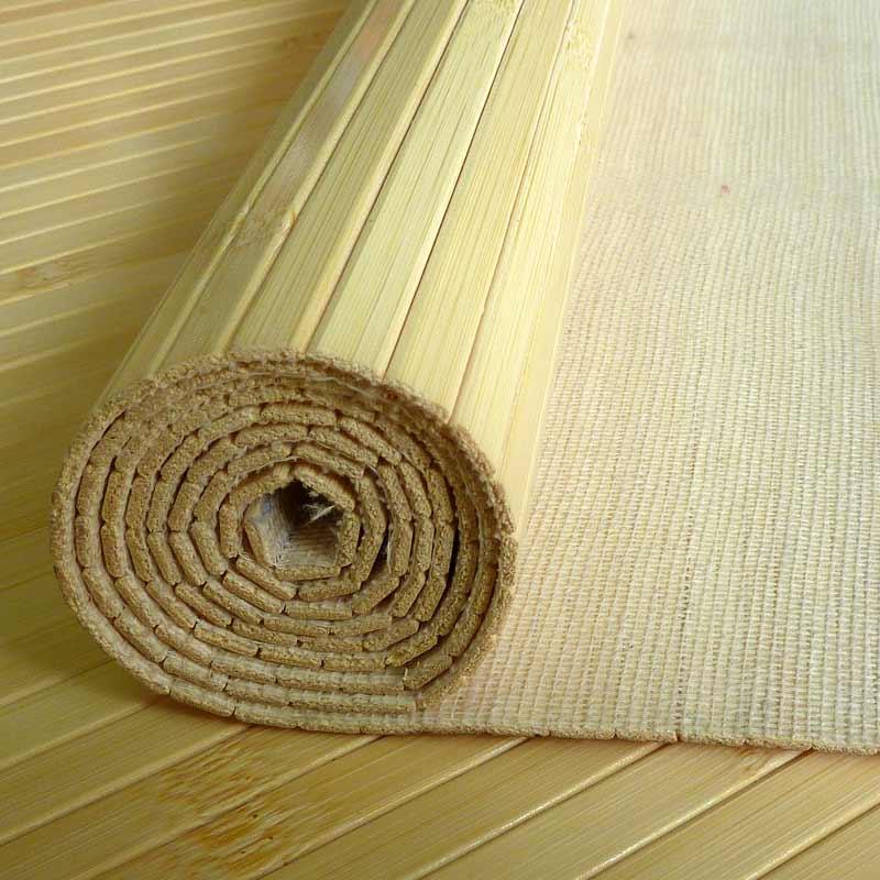 Бамбуковые обои натуральные 17 мм 90 см