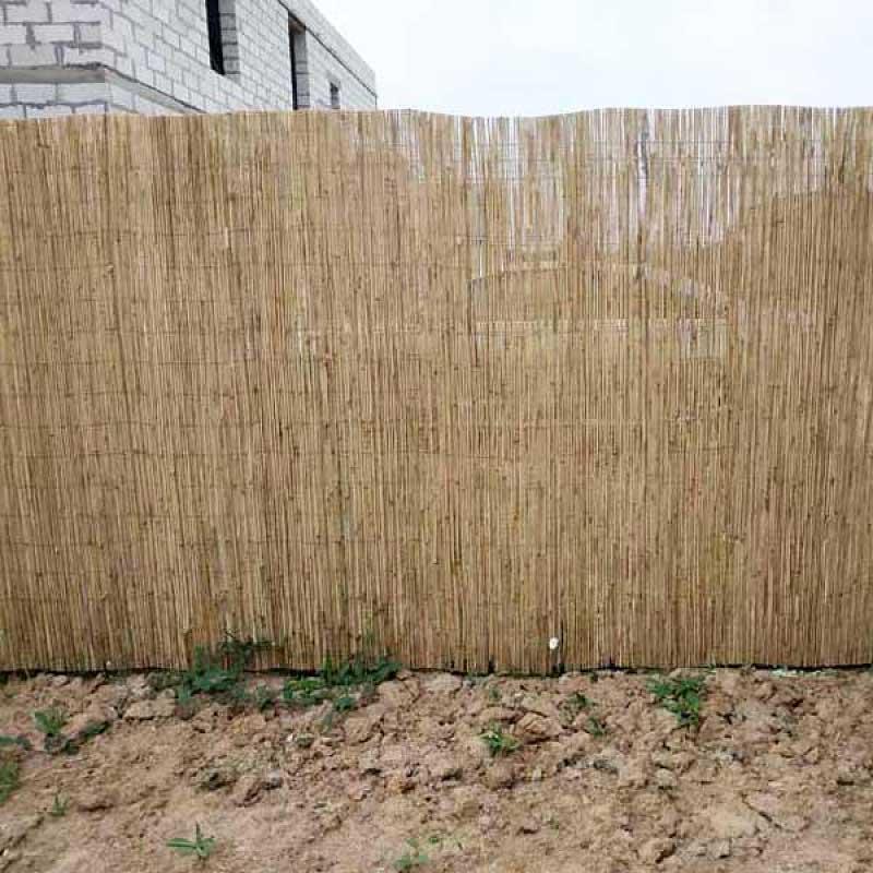 Тростниковый забор фото
