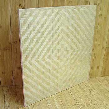 Панель бамбуковая однослойная Лотос