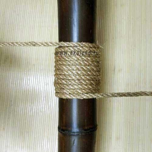 Манильский канат 8 мм