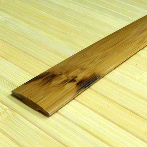 Стыковочная планка из бамбука коричневая с рисунком