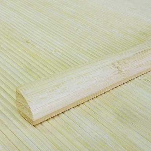 Планка бамбуковая для внутреннего угла натуральная