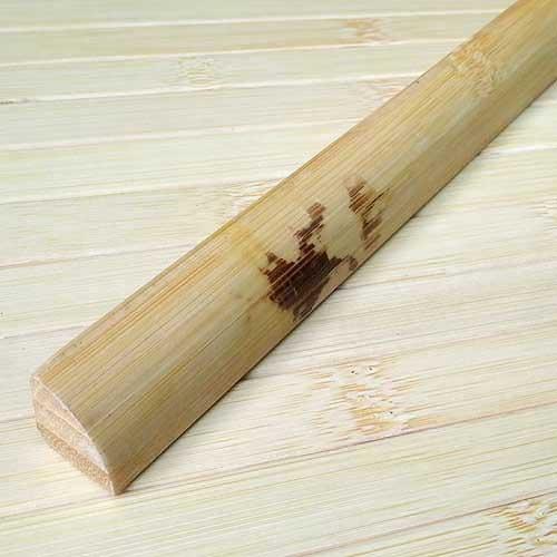 Планка бамбуковая для внутреннего угла натуральная с рисунком