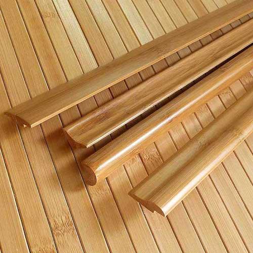 Плинтус из бамбука