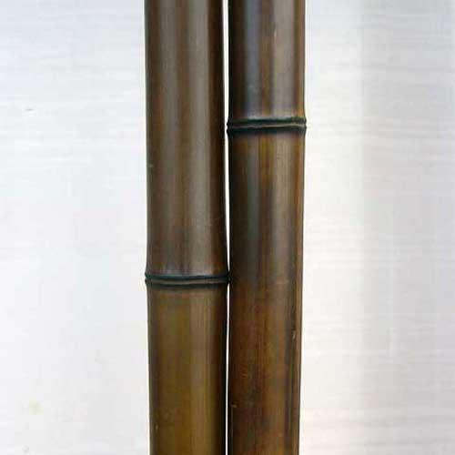 Половинка бамбука шоколад 4 - 5 см
