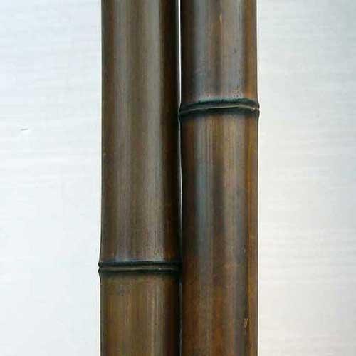 Половинка бамбука шоколад 7 - 8 см