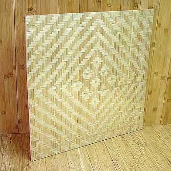 Панель бамбуковая однослойная Сакура
