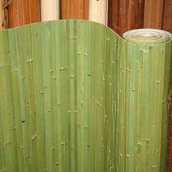 Бамбуковые обои фисташка 17 мм 90 см