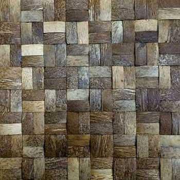 Кокосовая мозаика DTM-001