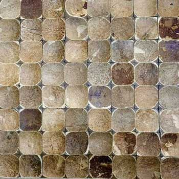 Кокосовая мозаика DTM-004