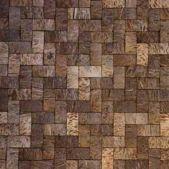 Кокосовая мозаика DTM-002