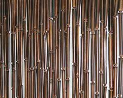 Бамбуковая штора тёмная. Цена за кв. метр