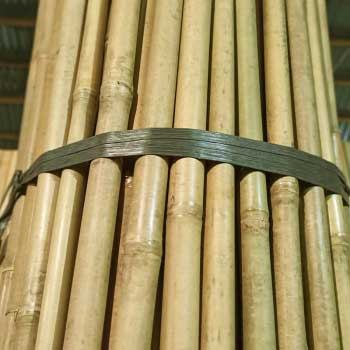 Бамбуковая опора 20 - 22 мм 210 см.