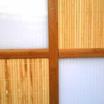 Планка бамбуковая стыковочная кофе