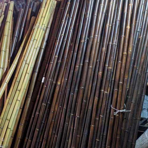 Бамбуковые стволы шоколад