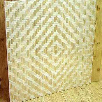 Панель бамбуковая однослойная Жемчужина