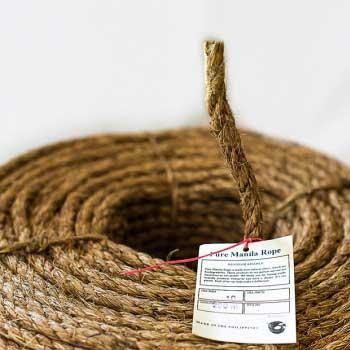 Манильский канат и веревки